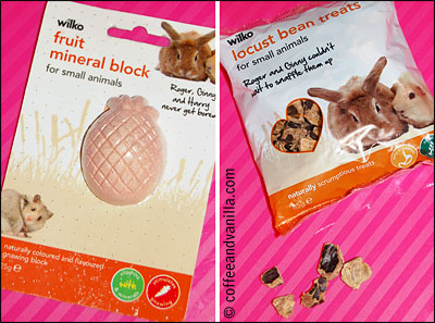 locust bean hamster treats fruit mineral block for gnawing