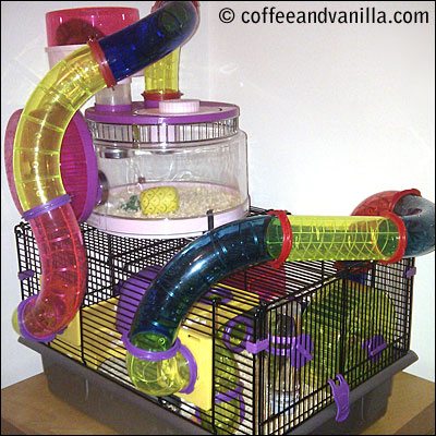 Rotastak hamster cages and tubes