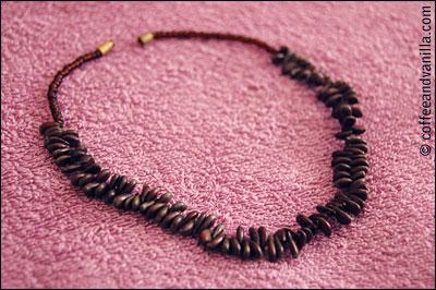 diy seed necklace