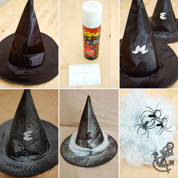how to make witch hat