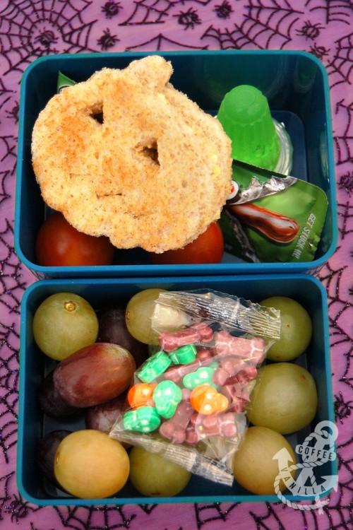 last minute Halloween lunch box
