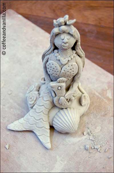 mermaid figurine