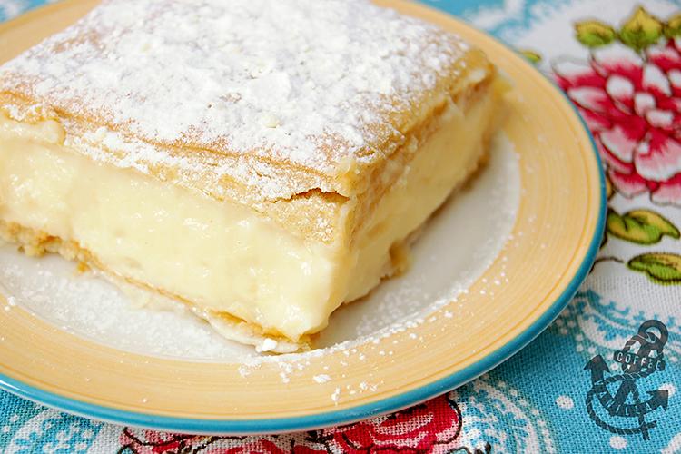 Polish custard cream pie