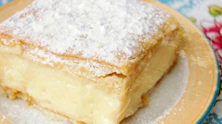 Napoleonka – Polish Custard Cream Pie