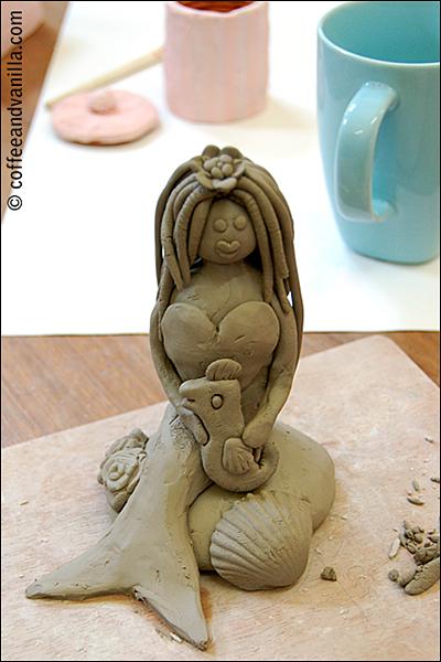 work in progress - clay