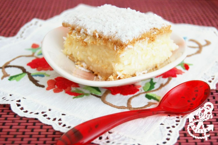 coconut and almond no bake cake