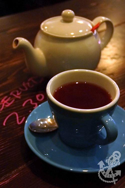 Jing tea and HasBean coffee