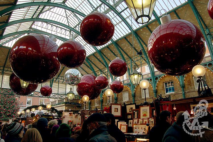 beautiful Christmas market