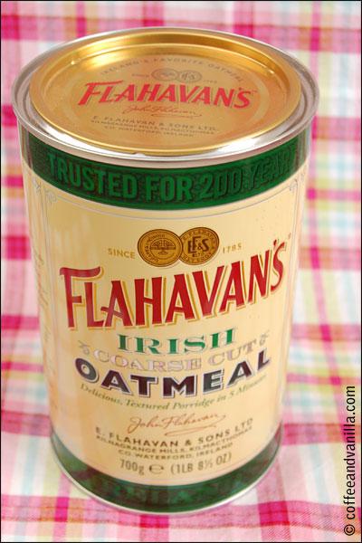 coarse cut oatmeal from Ireland