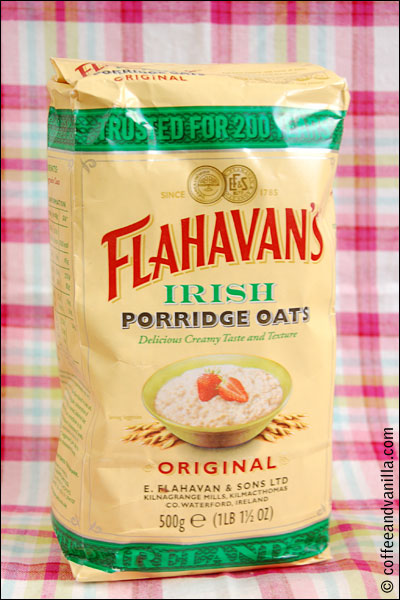 fine porridge oats from Ireland oatmeal