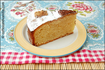 quick vanilla and lemon cake
