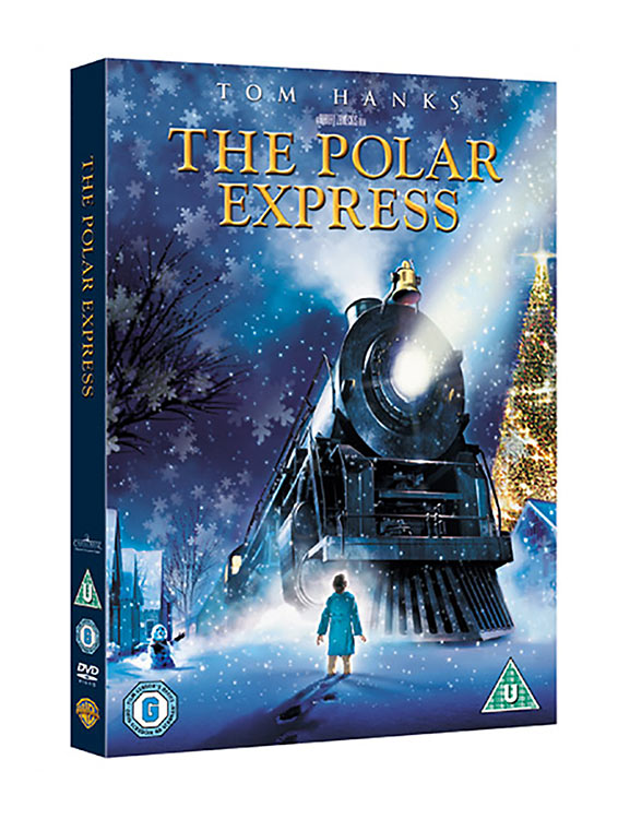 Tom Hanks The Polar Express movie cover