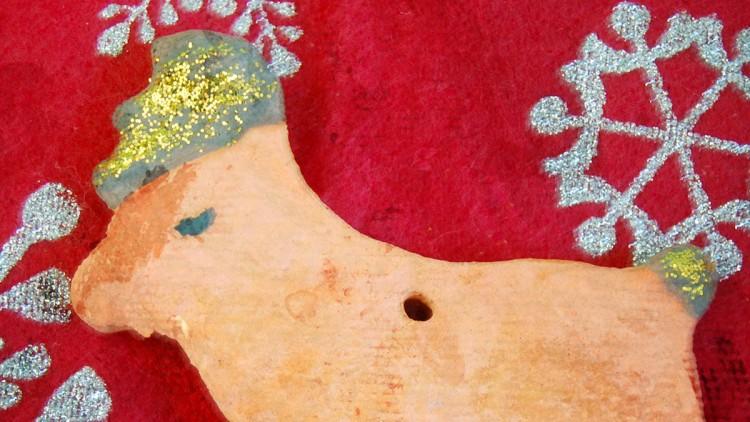 Glittery Salt Dough Decorations – Kids' Crafts