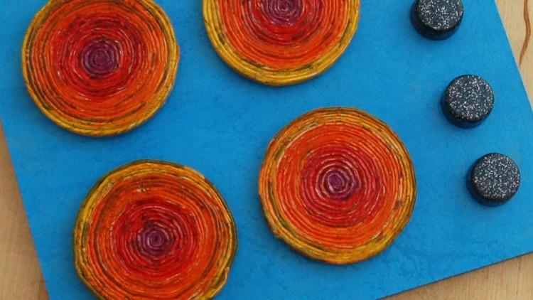 DIY Play Stove Top – Half Term Kids' Crafts