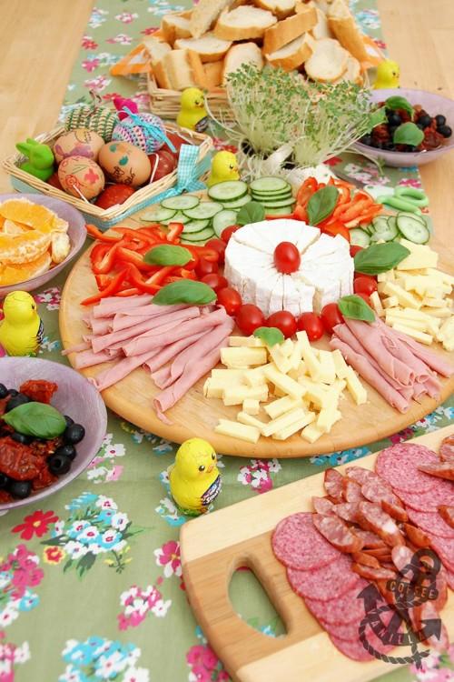 traditional Polish Easter table
