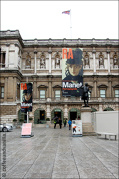 Manet exhibition RA London