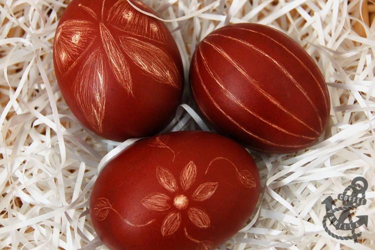 Polish skrobanki scratched scrapped eggs
