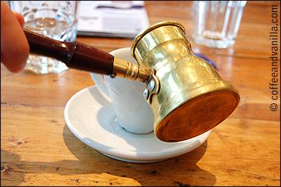 Greek bras coffee pot