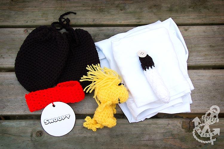 Snoopy from Peanuts handmade costume