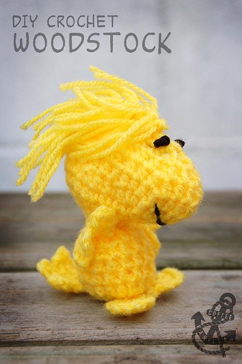 stuffed Woodstock toy