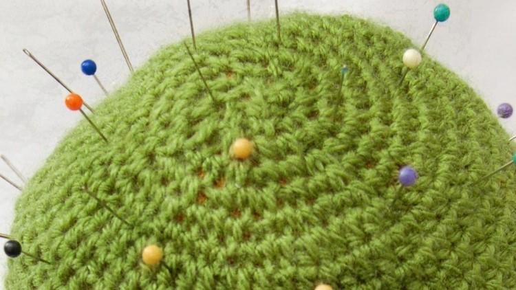 DIY Crochet Cactus Pincushion
