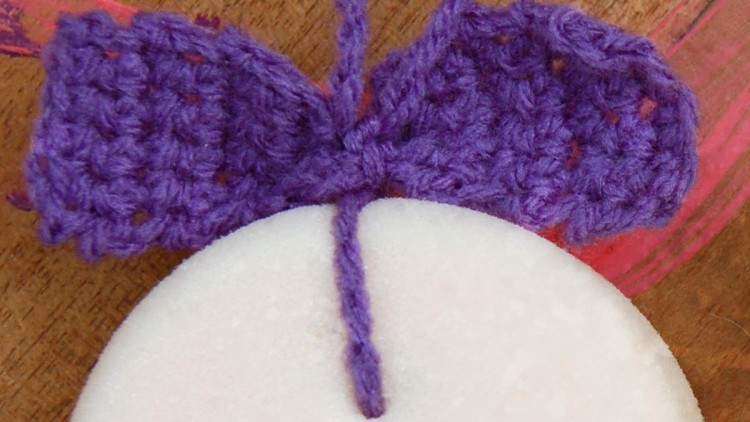 DIY Sponge on a Rope for Kids with a Crochet Bow