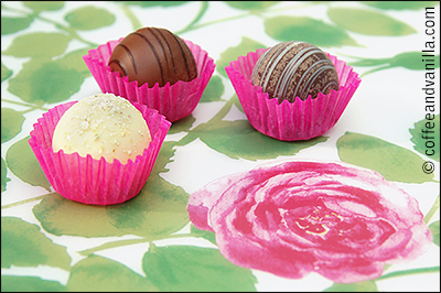 chocolates with Indian spices