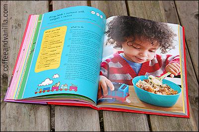 cook book written by popular baby food brand Ella's Kitchen