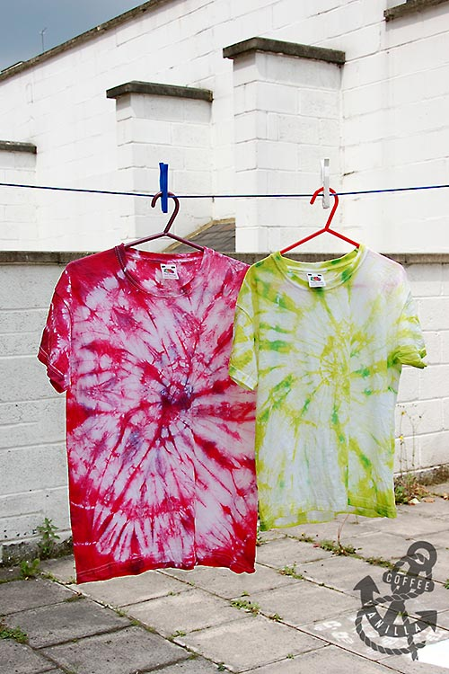 how to make your own tie dye shirt