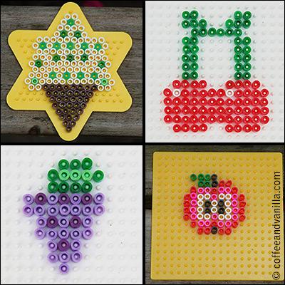 summer kids crafts ideas Hama Ikea bead patterns