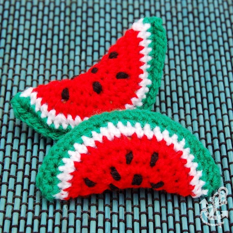 crochet watermelon ideas