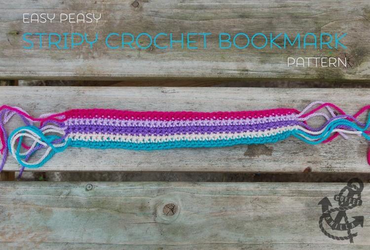 how to make crochet bookmark