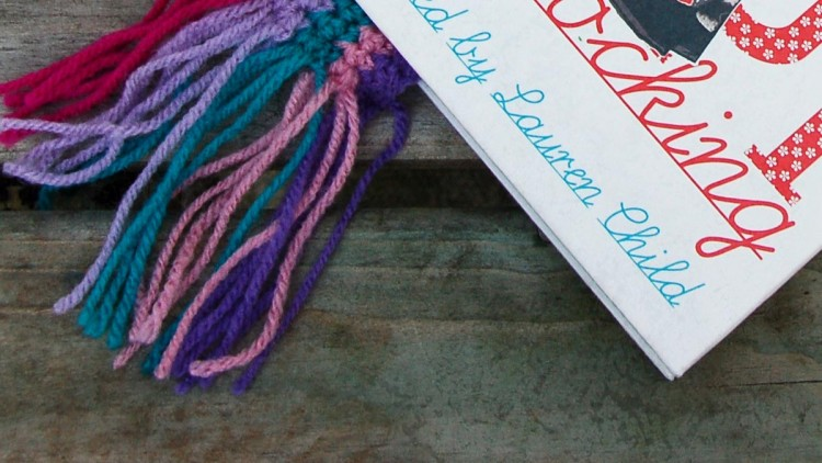Easy Peasy Stripy Crochet Bookmark Pattern