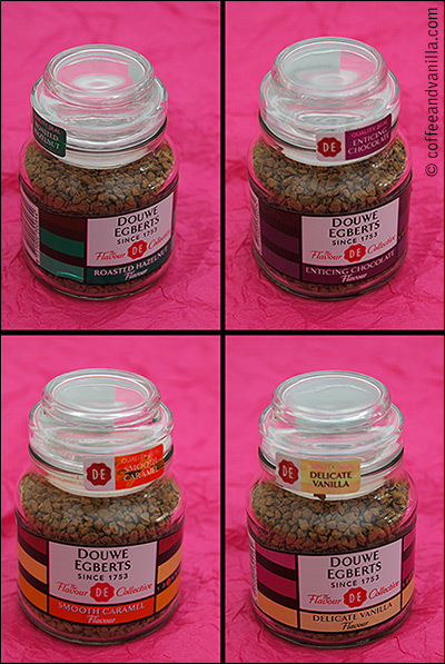 instant coffee selection
