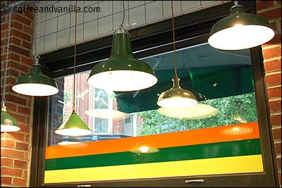 yellow green orange decor