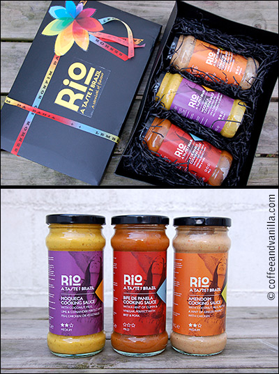 cooking sauces from Brazil