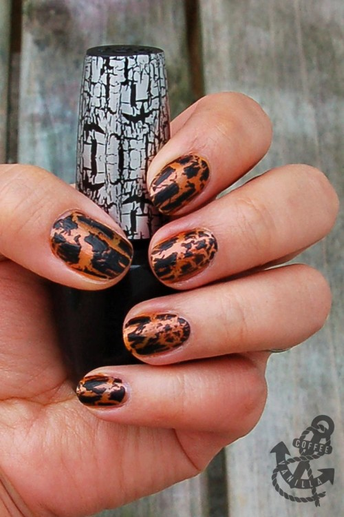 quick Halloween nails simple Halloween manicure