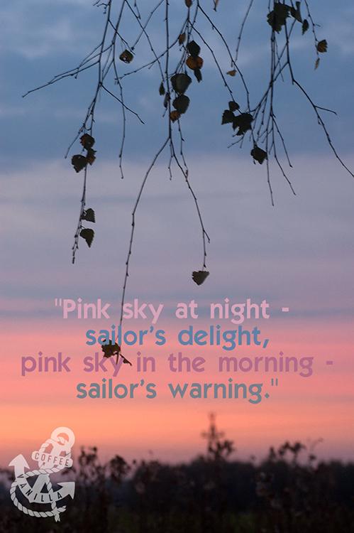 nautical phrases sailors' sayings