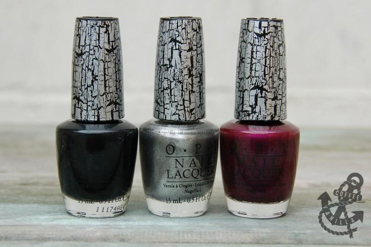 nail polish review crack crackle shatter varnishes