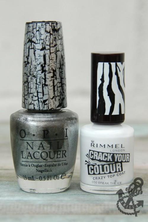 shatter crackle nail polish varnish lacquer OPI Rimmel Asda