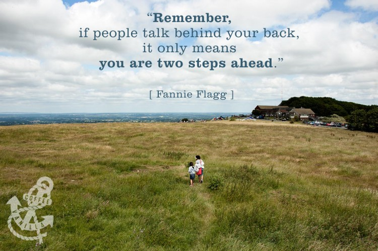 quote about people talking behind your back
