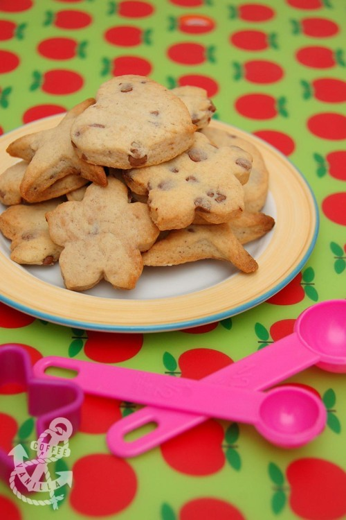 Polish recipes UK chocolate chip cookies food blog UK