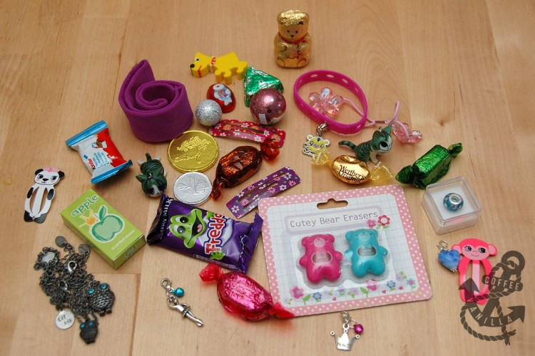 stocking fillers and party bag fillers London blogger