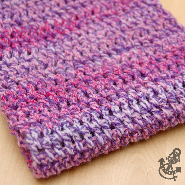 basic crochet scarf pattern
