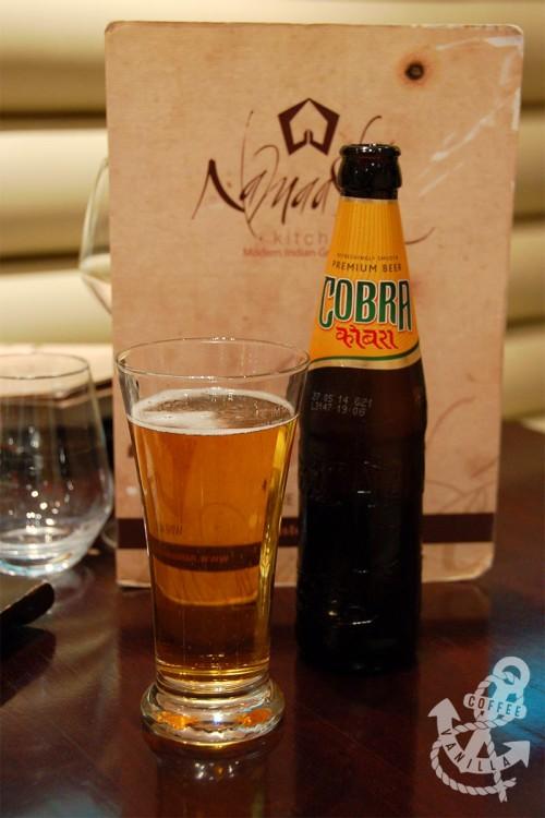 Indian beer bottle Cobra