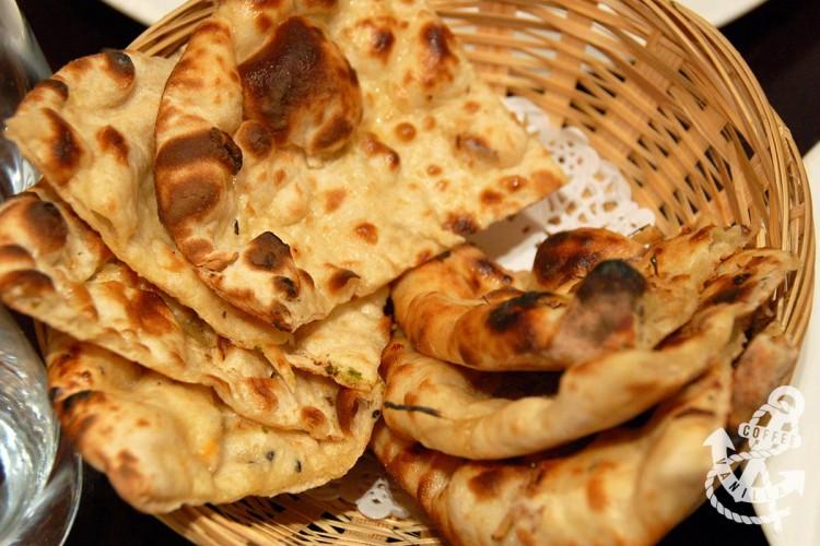 dates and ginger naan lachcha paratha dall panchratan