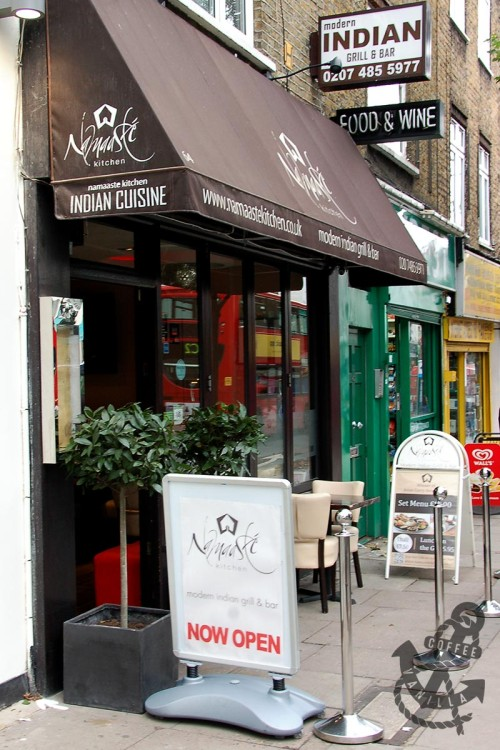 modern Indian cuisine bar and grill in Camden