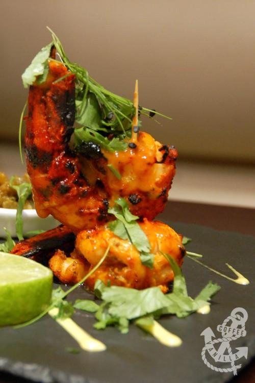 jumbo prawn with balchao sauce