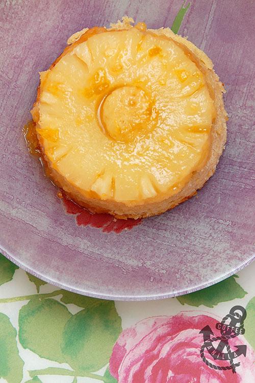 pineapple dessert simple sponge cake pudding recipe