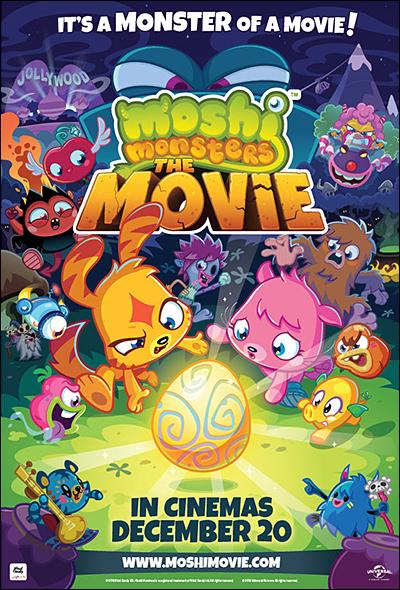 Moshi Monsters movie UK